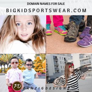 Domain Names for Sale- bigkidsportswear.com